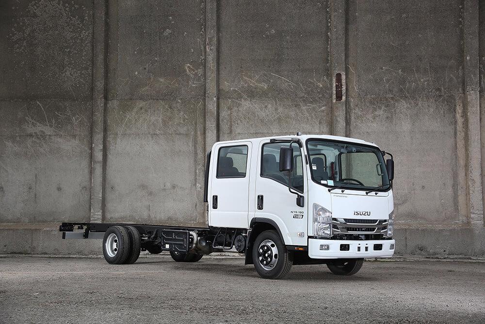 N75 190(E) Crew Cab - Isuzu Trucks