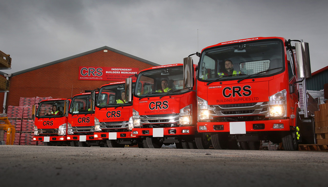 Isuzu is the perfect seven for CRS Building Supplies