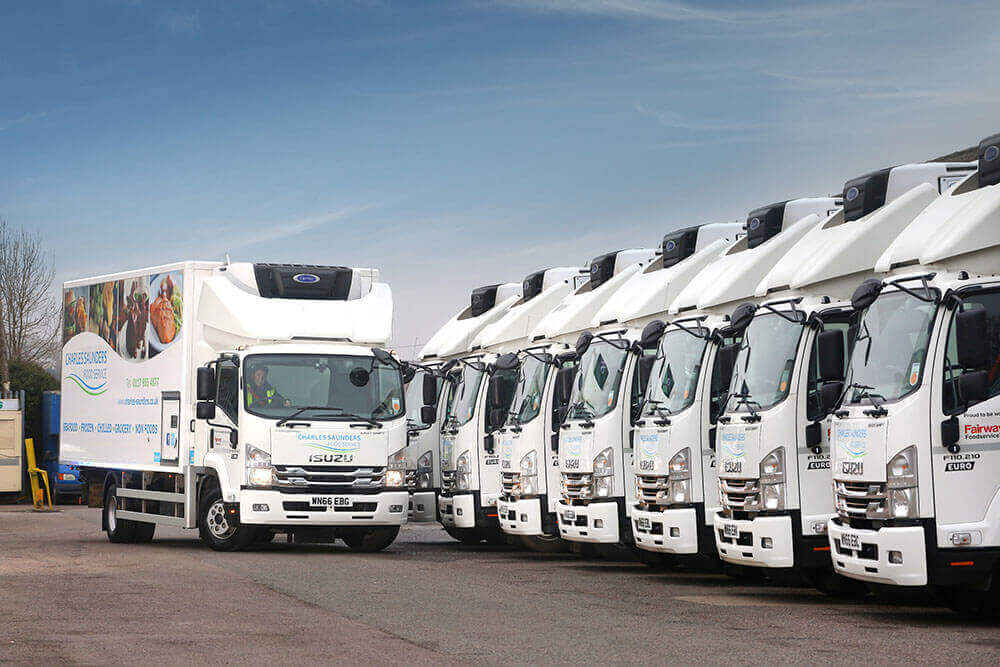 Charles Saunders 11 tonne Isuzu Trucks