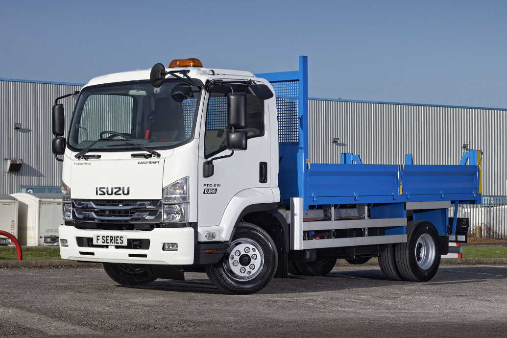 Image of Isuzu truck driveaway F110.210 11 tonne twin rear wheel tipper