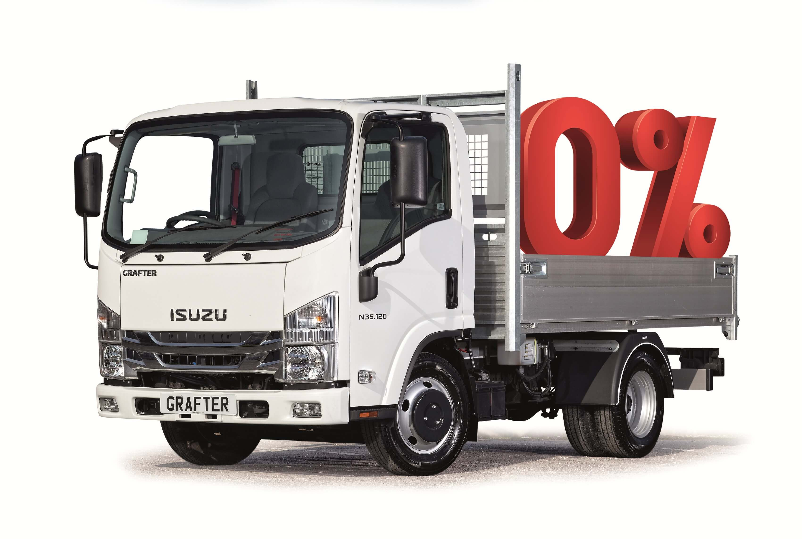 Grafter 0% finance offer truck image