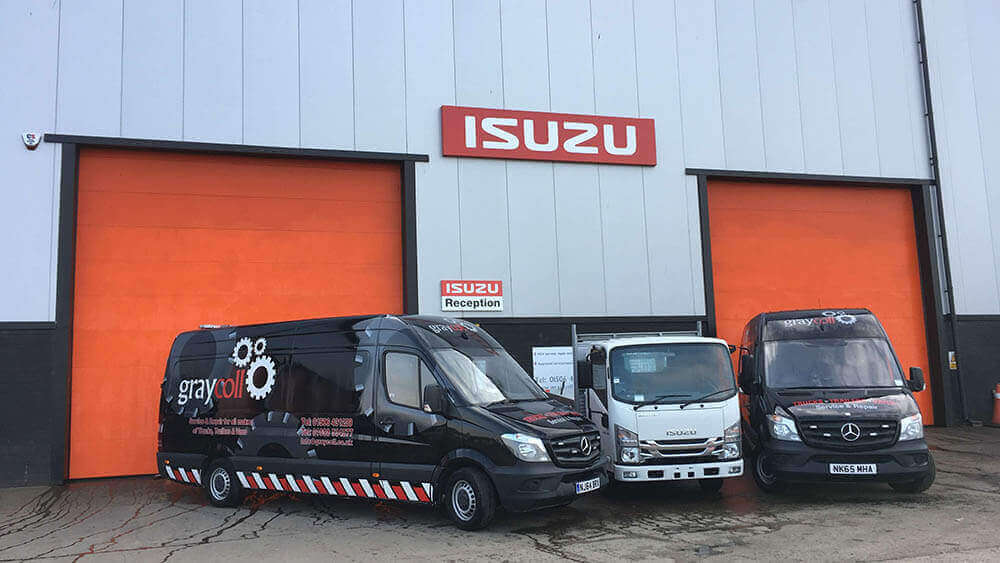 Isuzu Truck Edinburgh Graycoll Scotland