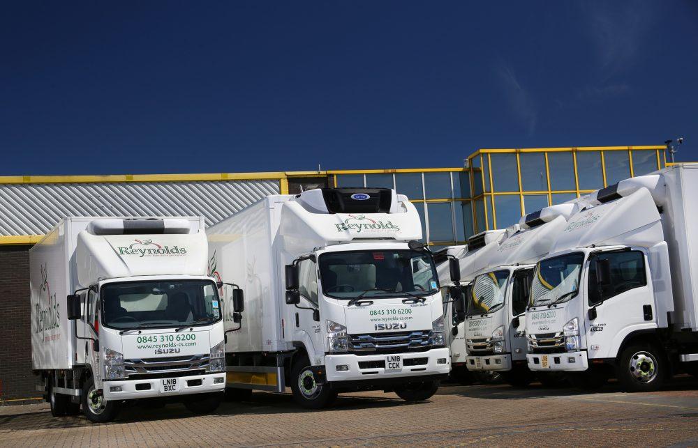 Reynolds Food Service refrigerated 13.5t trucks