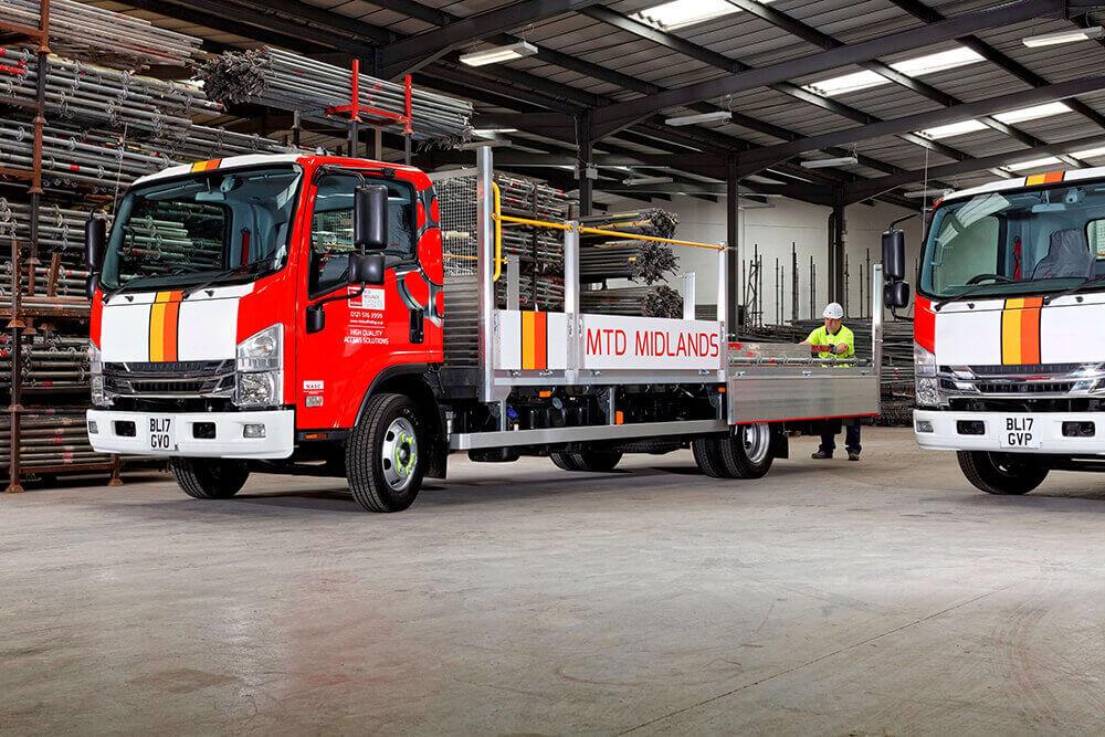 Isuzu 7.5t Beavertail Truck Trad Midlands