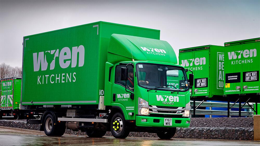 Wren Kitchens 7.5 tonne Truck