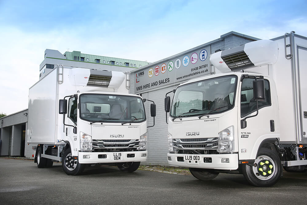 Isuzu 7.5 Tonne Fleet for VMS
