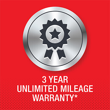 Isuzu Truck 3 year unlimited mileage warranty logo