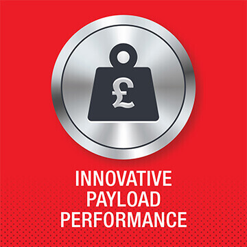 Isuzu truck innovative payload performance logo