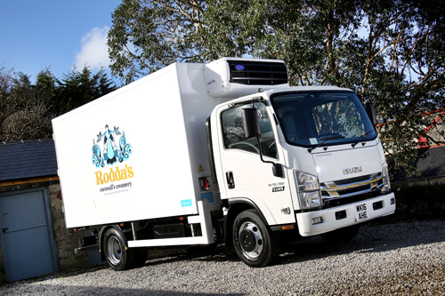 Image of Isuzu Truck UK N75.190 7.5 tonner with refrigerated body