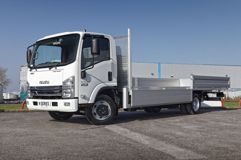 7.5 tonne Beavertail/Dropside Truck from Isuzu