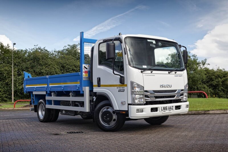 An image of an Isuzu N75.190(E) Tipper