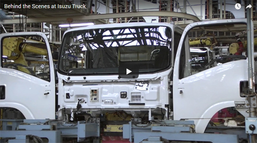 Video: Behind the Scenes at Isuzu Truck